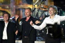 Older Sting & The Police