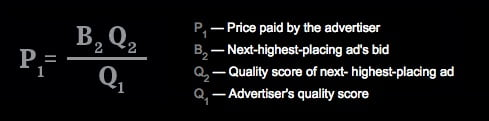 auction bid ppc formula