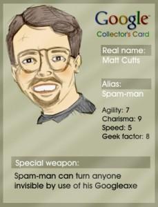 matt cutts card