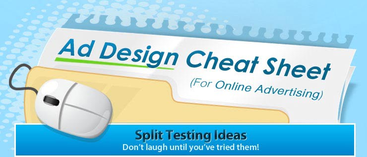 ad design cheat sheet