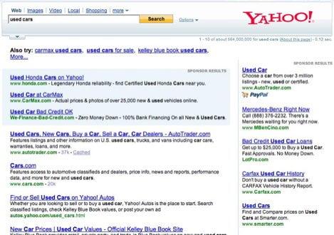 Yahoo-Paypal-Listings